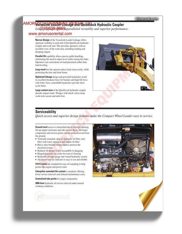 Caterpillar 216b 287b Electrical System