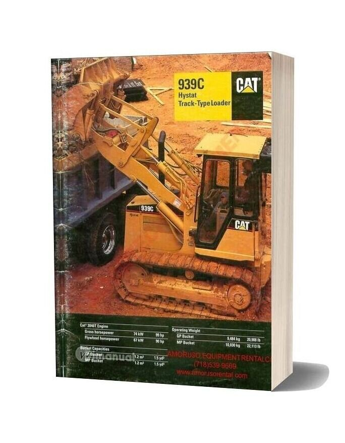 Cat 939 Technical Specifications