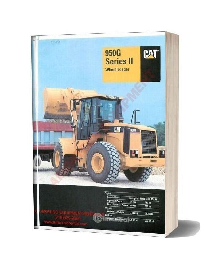 Cat 950 Technical Specifications