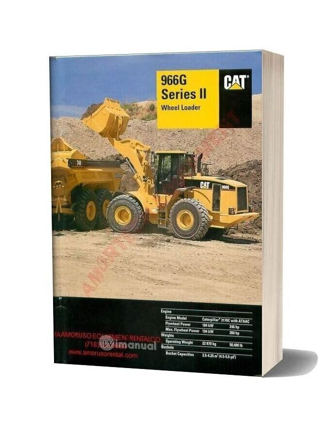 Cat 966 Technical Specifications