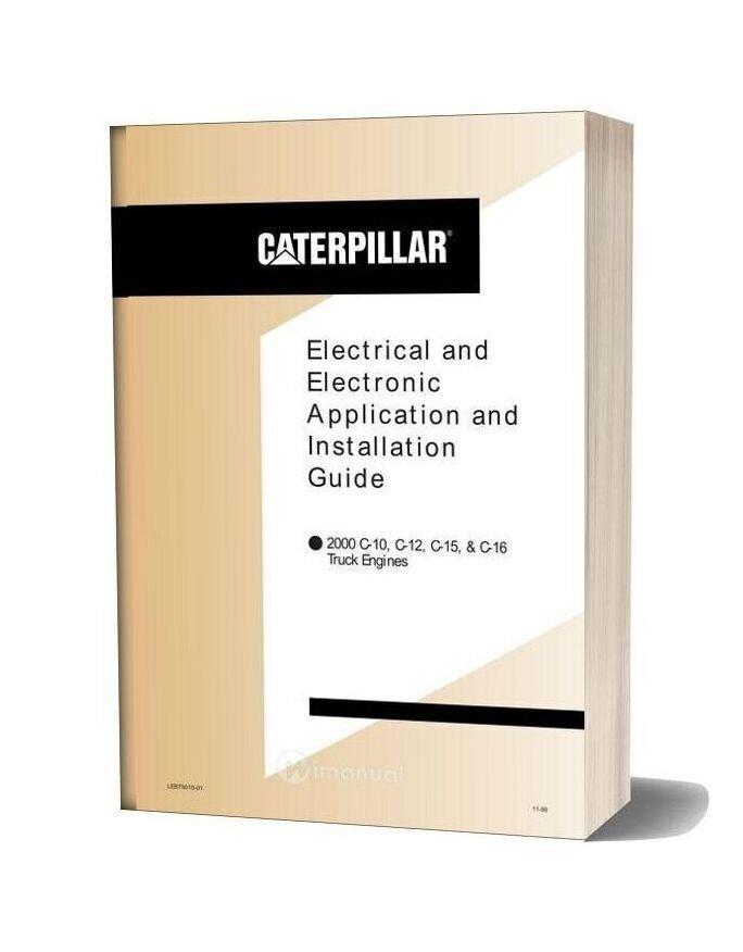 Cat Wiring C10 C12 C15 C16