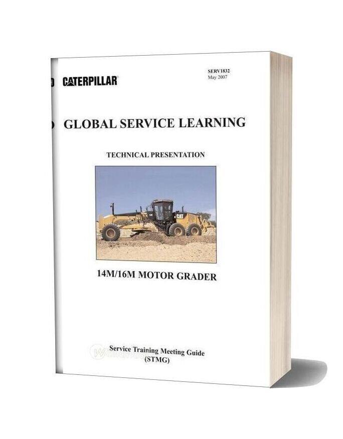 Caterpillar 14m16m Motor Grader Global Service Learning
