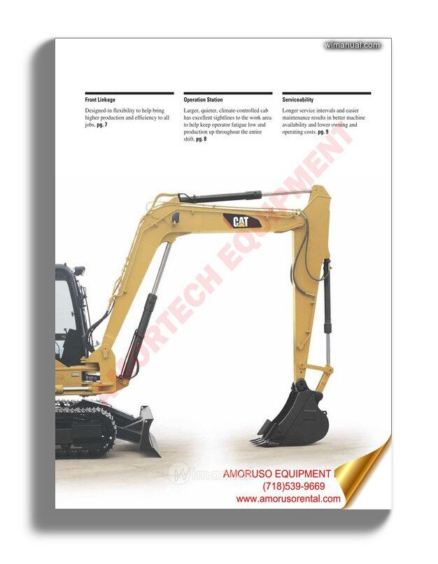 Caterpillar 966h Wheel Loader Electrical System