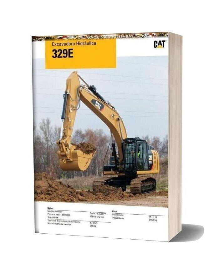Caterpillar 329e Hydraulic Excavator Catalog