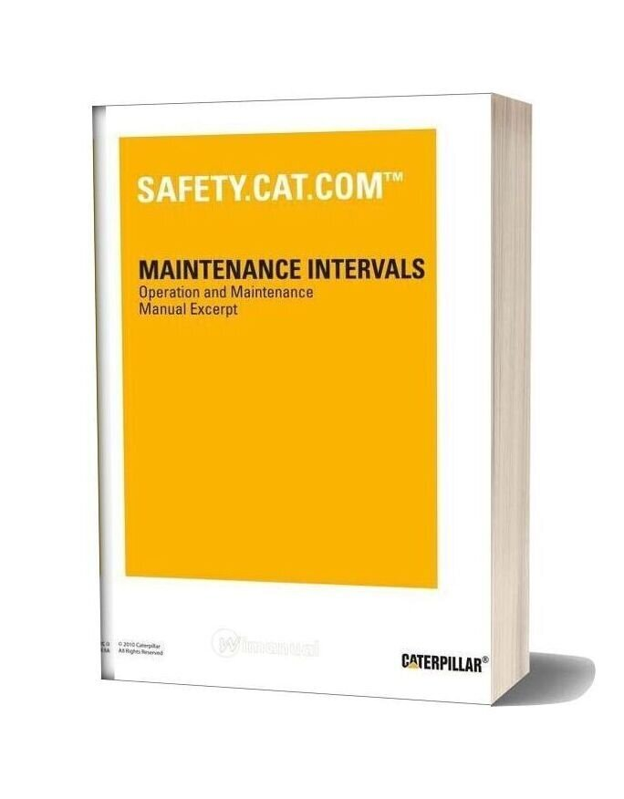Caterpillar 3406e Service Intervals
