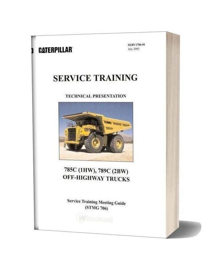 Caterpillar 785c 789c Off Highway Trucks Service Training
