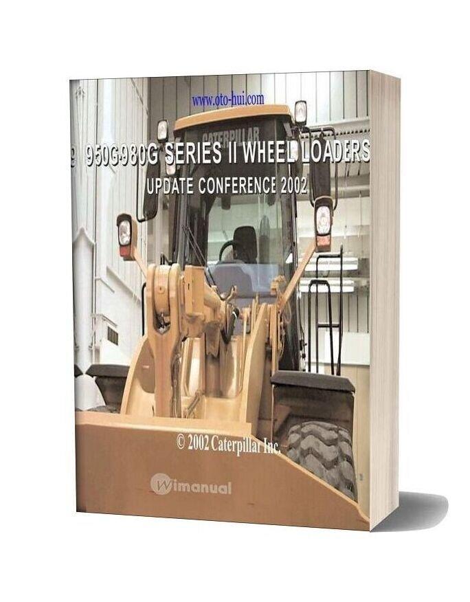 Caterpillar 950g 980g Series Ii Wheel Loaders Service Training