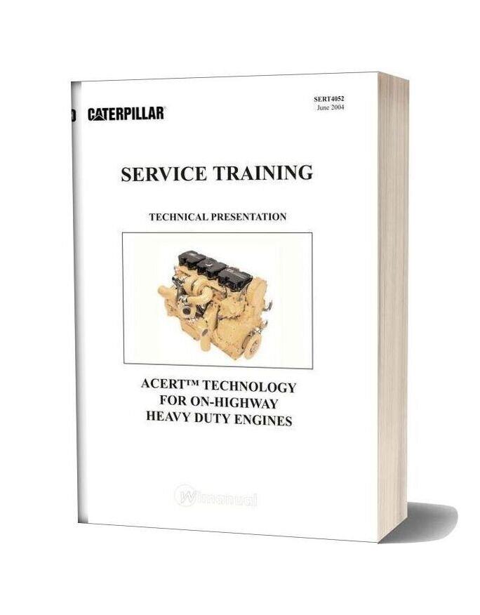 Caterpillar Acert Service Training