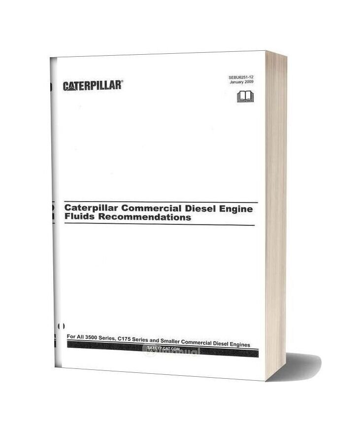 Caterpillar Commercial Diesel Engine Fluids Recommendations