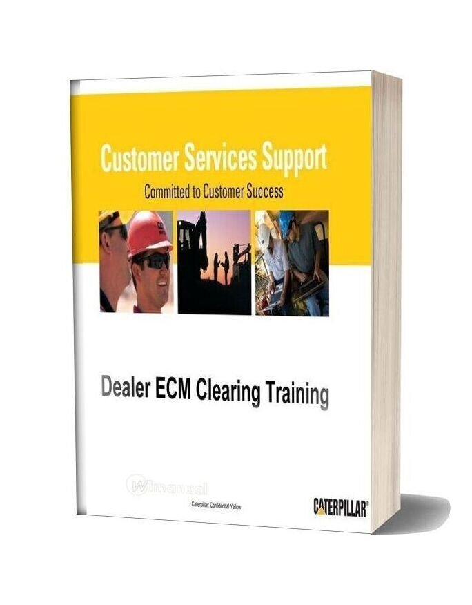 Caterpillar Dealer Ecm Clearing Training