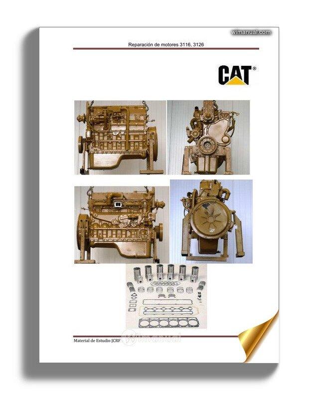 Caterpillar Engine 3126 Service Manual Spanish