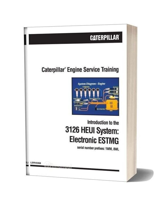 Caterpillar Engine Service Training 3126 Heui System