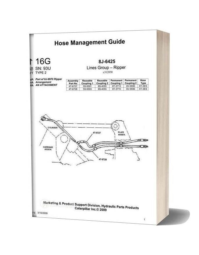 Caterpillar Hose Management Guide 16g