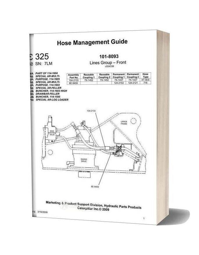 Caterpillar Hose Management Guide 325