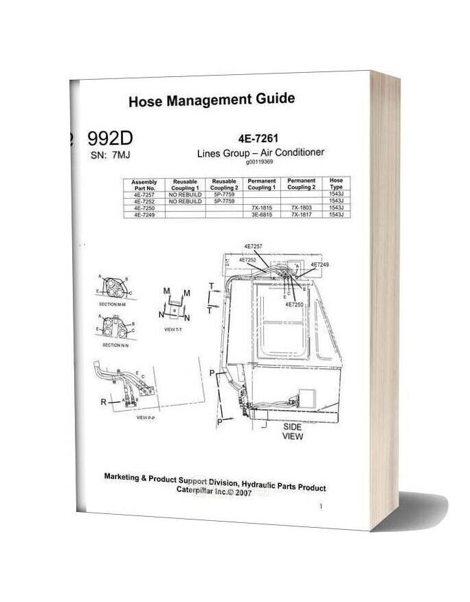 Caterpillar Hose Management Guide 992d