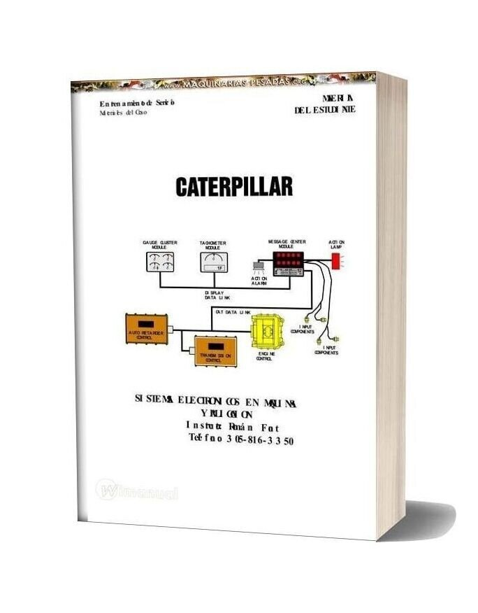 Caterpillar Machine Course And Electrical Systems