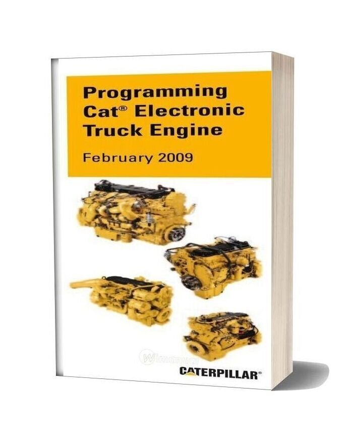 Caterpillar Programming Cat Electronic Truck Engine 2009