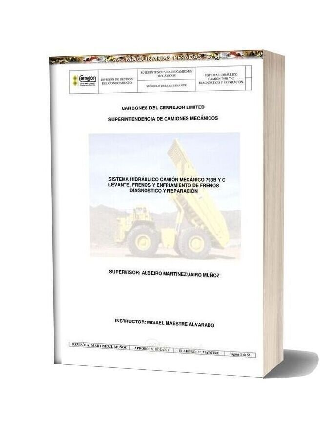Caterpillar Truck 793b 793c Hydraulic System Manual