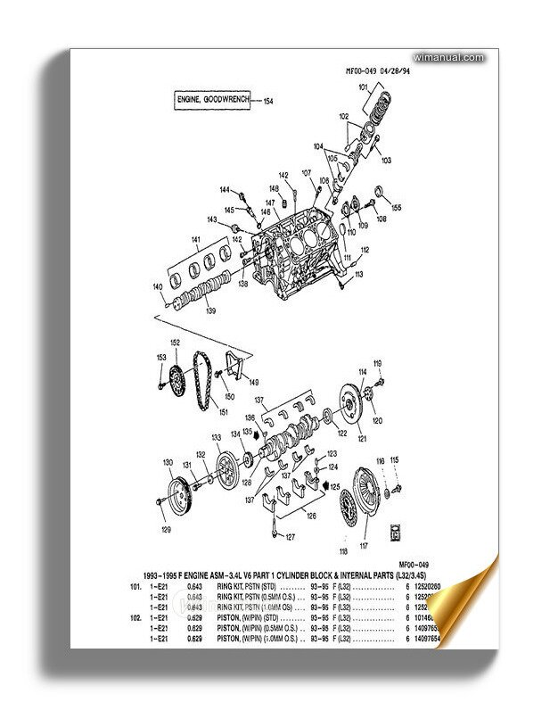 Chevrolet       Camaro       1993       2002    Parts      Diagrams    Manual