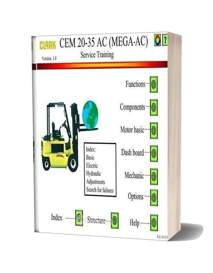 Clark Cem20 35ac Enac V01 Service Manual