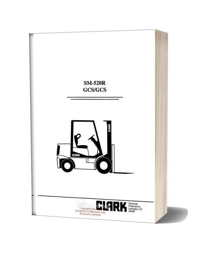Clark Sm 520r Service Manual