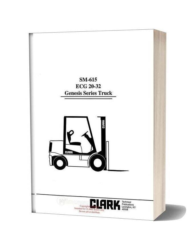 Clark Sm 615 Service Manual