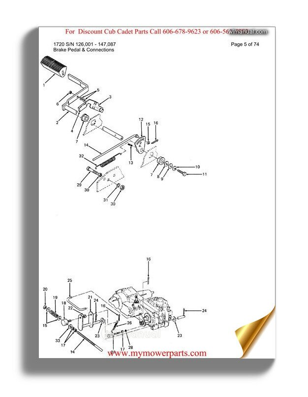cub cadet parts manual for model 1430 sn 207401 239300  wimanual