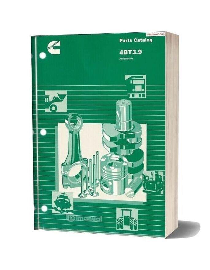 Cummins 4bt3 9 Automative Parts Guide
