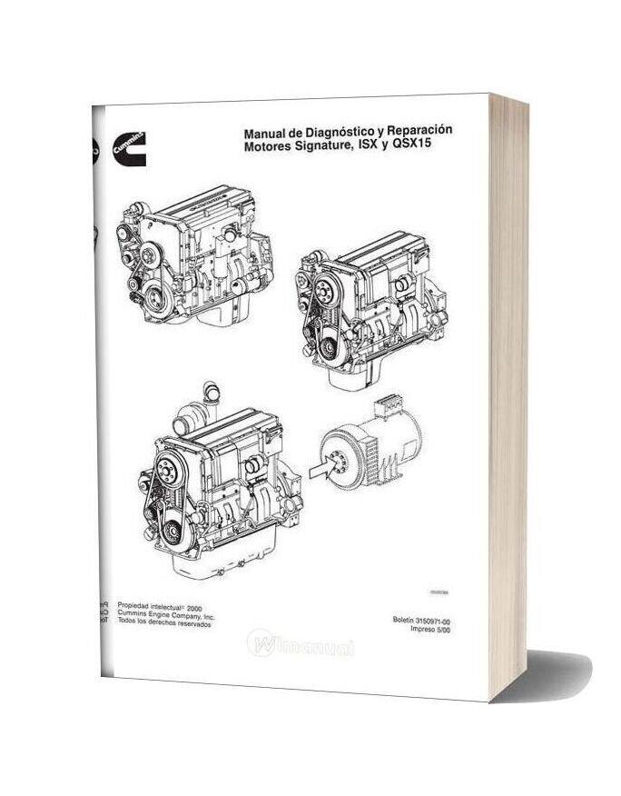 Cummins Isx Qsx15 Repair Manual 2000