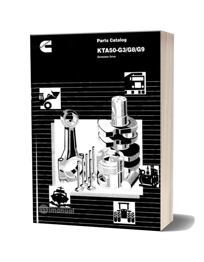 Cummins Kta50 G3 G8 G9 Parts Catalog