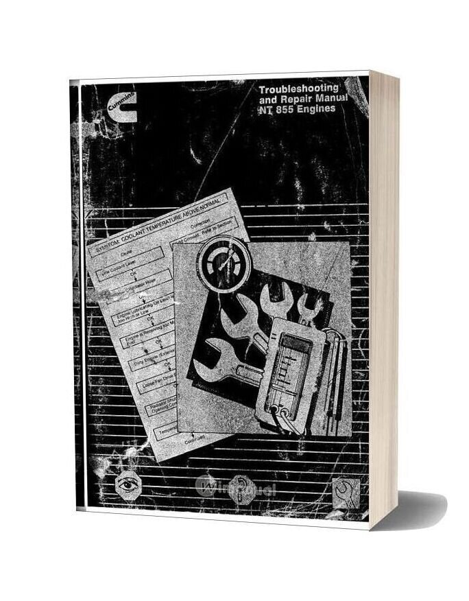 Cummins Nt855 Engines Troubleshooting And Repair Manual-23c11958