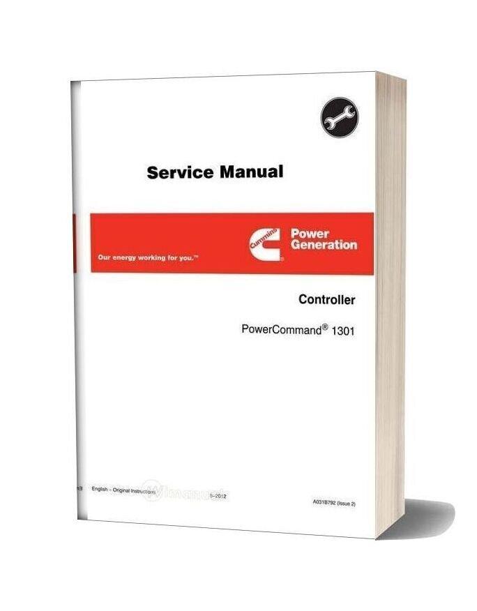 Cummins Power Generation 1301 Service Manual