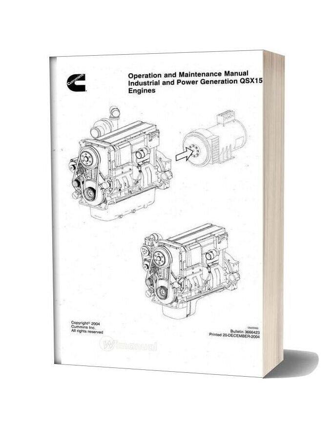 Cummins Qsm11 Engine Service Manual