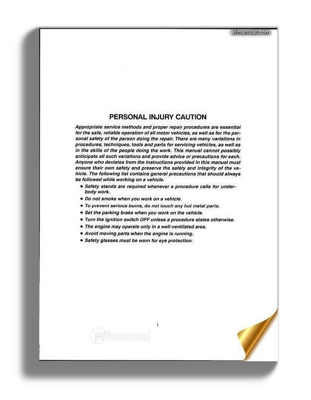 Daewoo Leganza Service Repair Manual