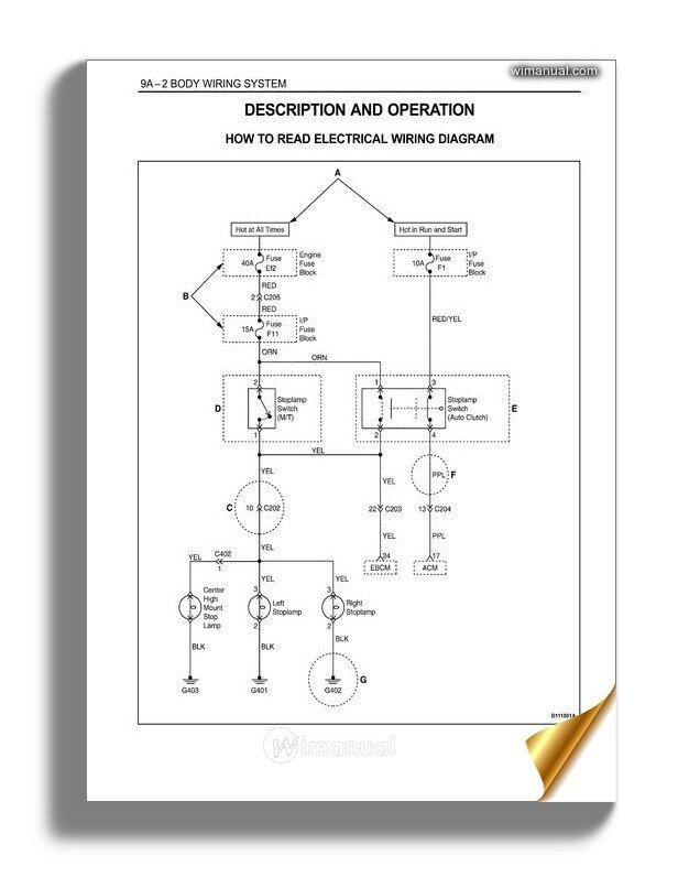 Daewoo Wiring Diagram