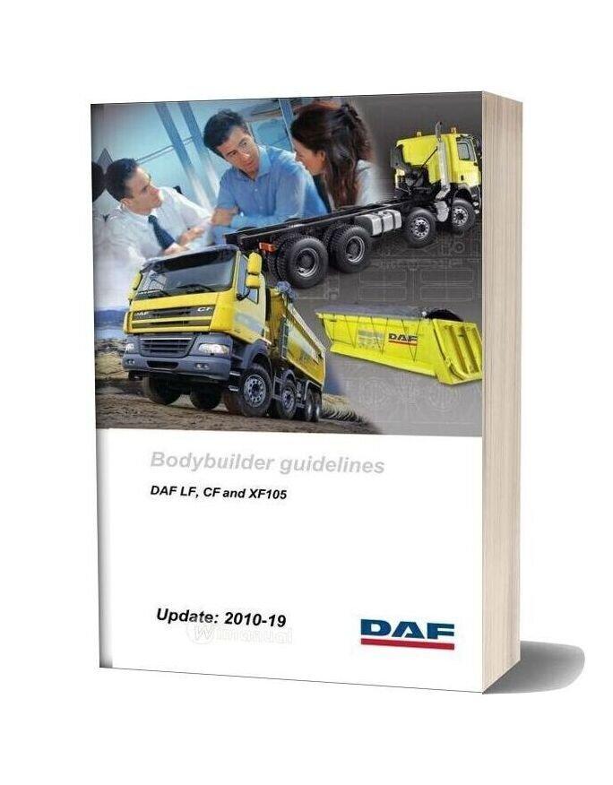 Daf Bodybuilders Guidelines Lf Cf Xf105