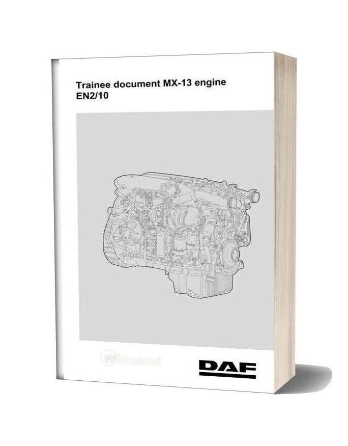 Daf Truck Trainee Document Mx 13 Engine En210