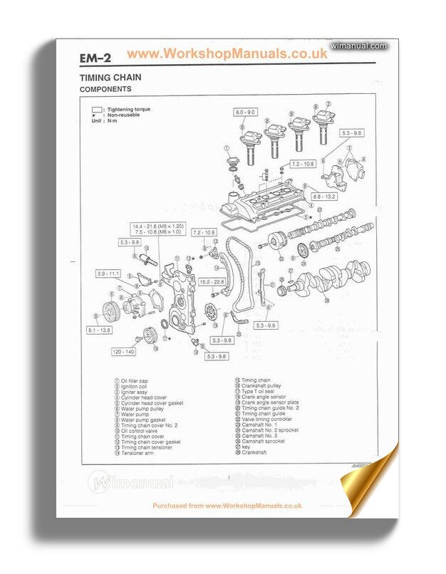 Daihatsu Terios Engine Mechanical Service Manual