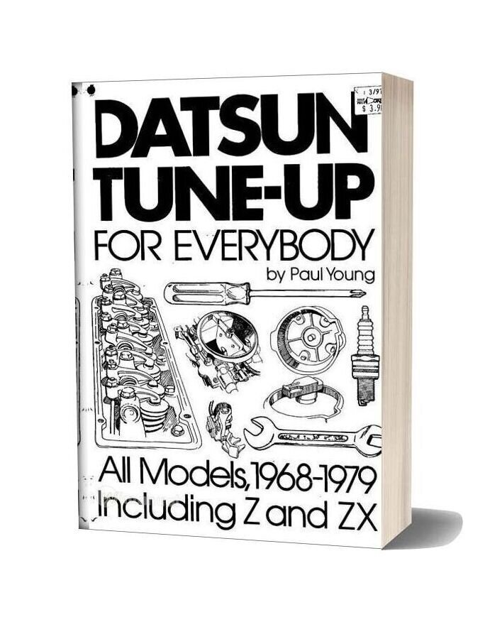 Datsun Tune Up Repair 1968 79 And Z Zx