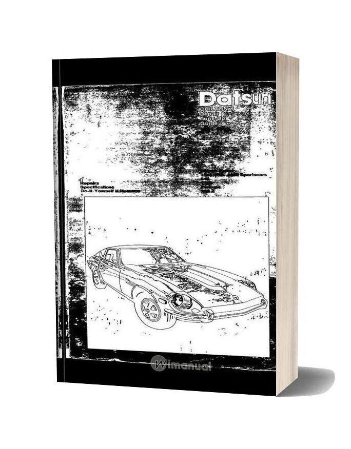 Datsun Tuneup Repair 1961 72