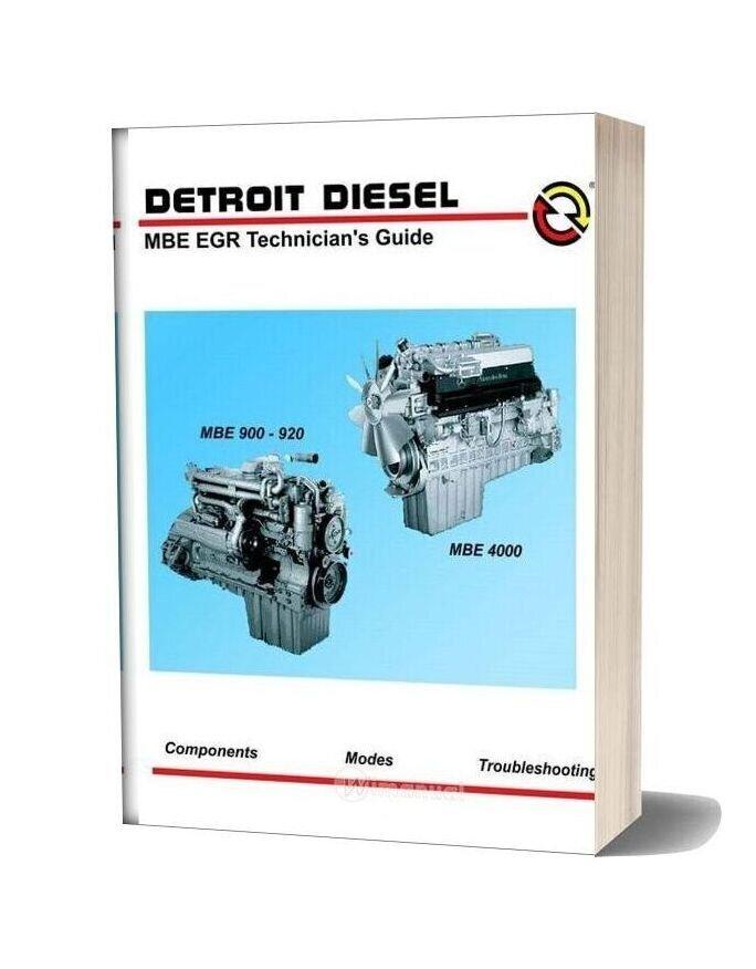 Detroit Diesel Mbe Egr 900 920 400 Technician Guide