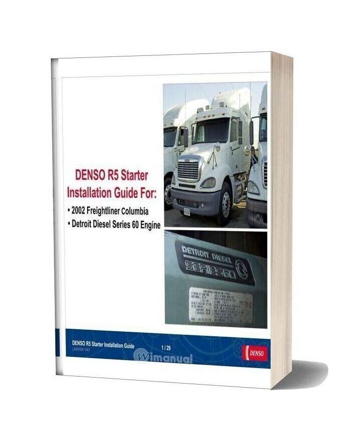 Detroit Diesel Series 60 Starter Installation Guide