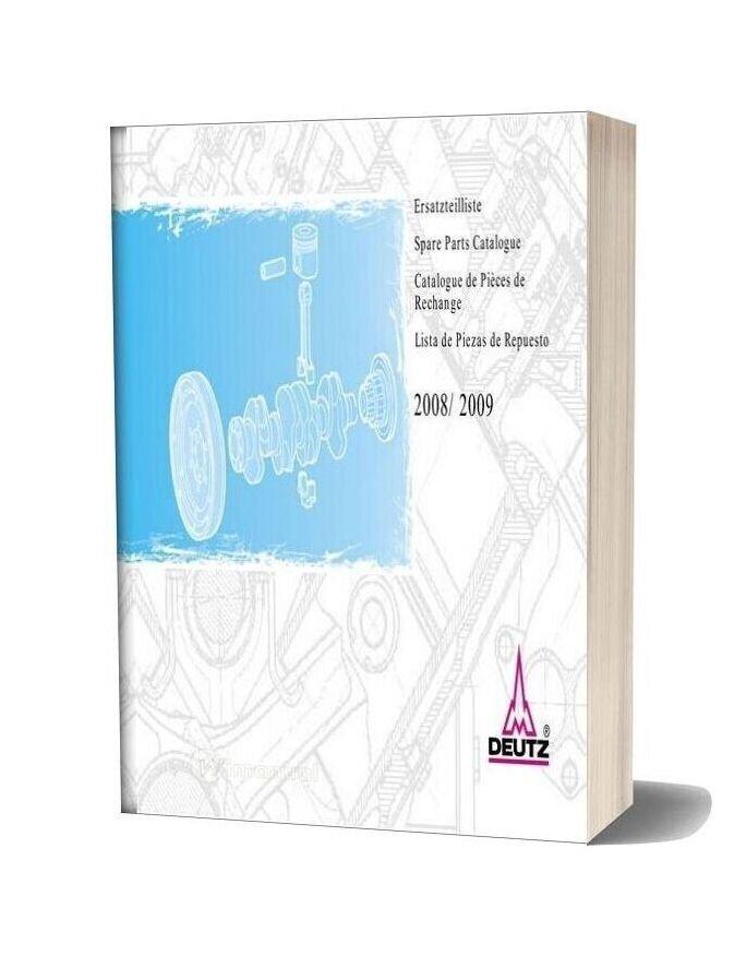 Deutz 2008 2009 Spare Parts Catalogue