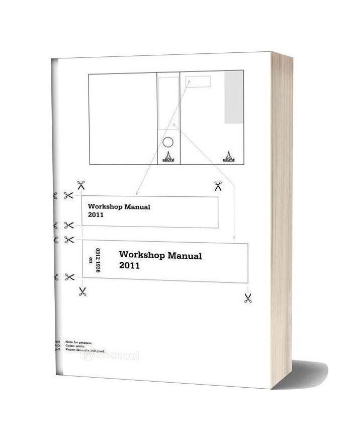 Deutz 2011 Workshop Manual