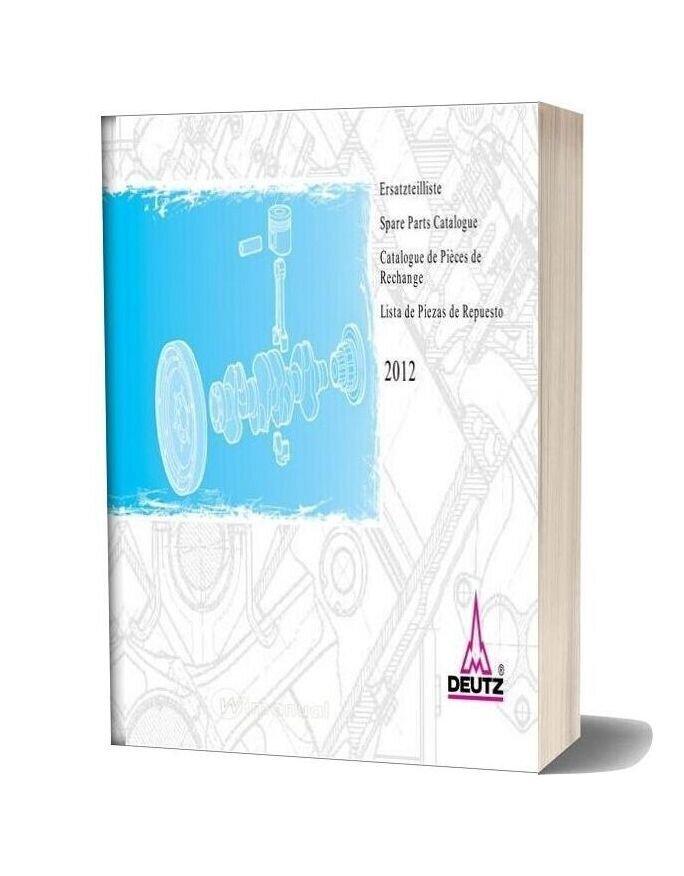 Deutz 2012 Spare Parts Catalogue