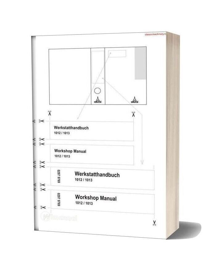 Deutz Bfm 1012 1013 Workshop Manual