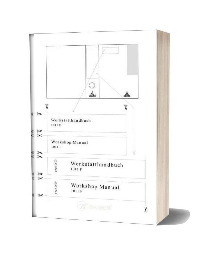 Deutz Engine 1011f Workshop Manual