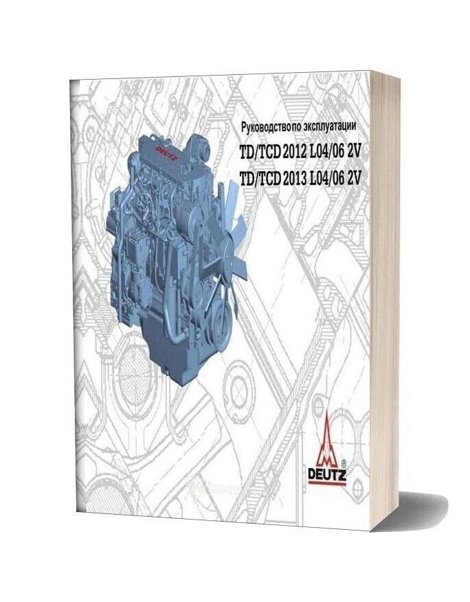 Deutz Engine 2012 2v 2013 2v Workshop Manuals