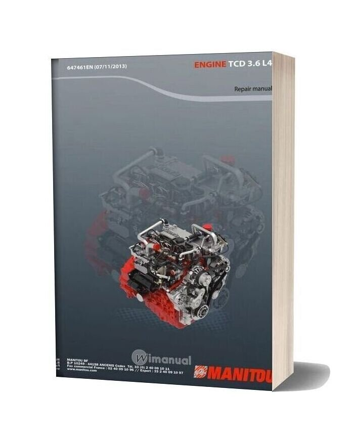 Deutz Engine Repair Manual Tcd 3 6 L4
