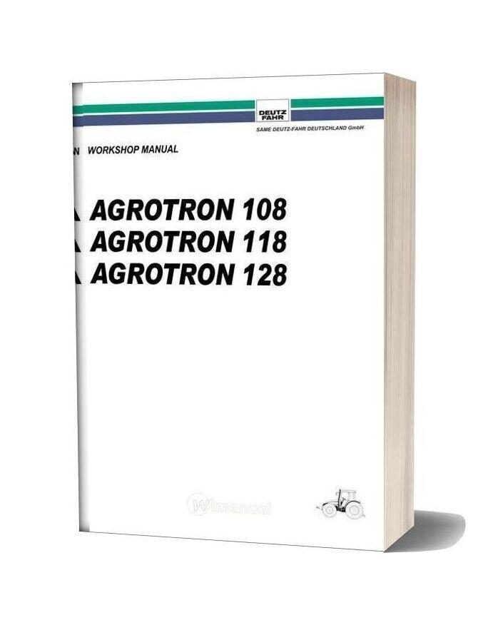 Deutz Fahr Agrotron108 118 128 Workshop Manual